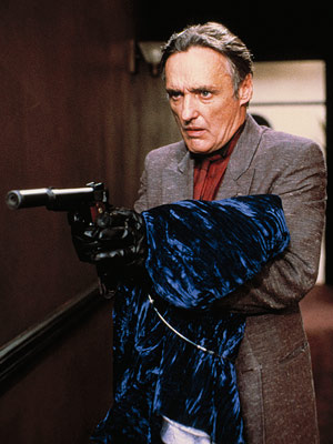 Blue Velvet, Dennis Hopper | Played by Dennis Hopper Blue Velvet (1986) Director David Lynch has created his share of creepy villains, but few have made as lasting an impression…