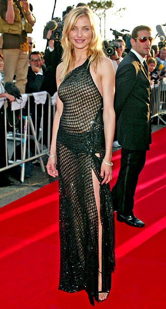 Style, Style: Red Carpet, ... | Luckily, Cameron Diaz?s performance in Gangs of New York would go on to leave a better impression than the unfortunate Versace fishnet dress she wore…