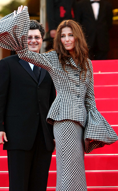 Style, Style: Red Carpet, ... | Catherine Keener?s houndstooth attack at the 2008 premiere of Synecdoche, New York might not have been so bad if the bell sleeves on the design…