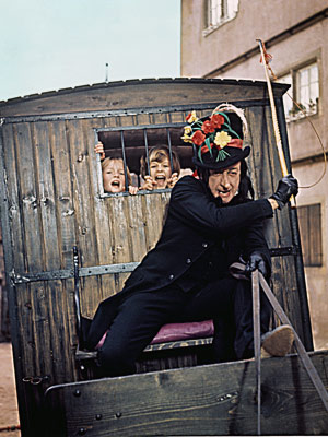 Chitty Chitty Bang Bang, Robert Helpmann | Robert Helpmann Chitty Chitty Bang Bang (1968) Kids, this is why you should never take sweets from strangers. The child catcher (played with an odd,…