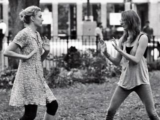 FRANCES FORD HAPPALA? Greta Gerwig and Mickey Sumner star in Frances Ha