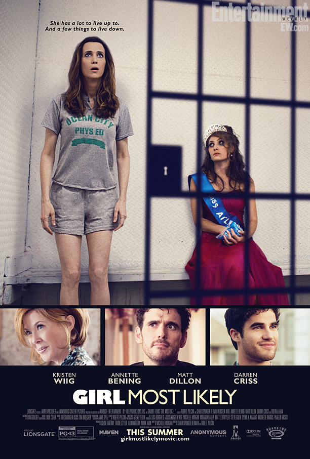 Girl Most Unlikely Poster