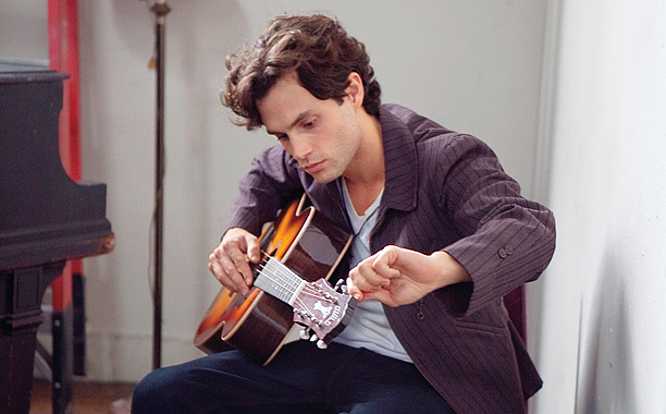 'BUCK'-ING THE TREND Penn Badgley sheds his Gossip Girl image and stars as music legend Jeff Buckley.