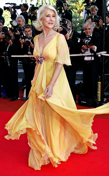 Style, Style: Red Carpet, ... | Helen Mirren wore this blinding Elie Saab dress to the 2007 premiere of Chacun Son Cinema , and then made the situation even worse by…