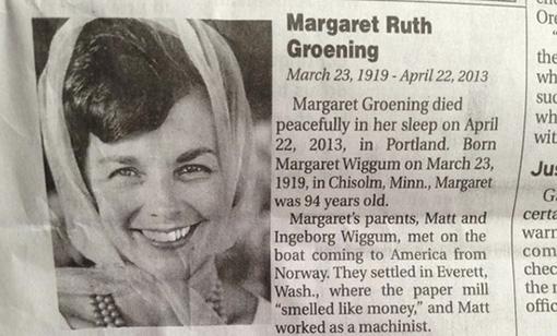 Marge Groening
