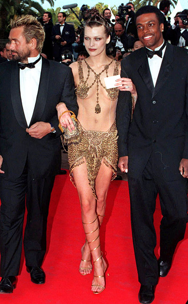 Style, Style: Red Carpet, ... | Milla Jovovich rocked amazingly over-the-top costumes by designers Jean-Paul Gaultier in The Fifth Element , but she should?ve drawn the line on modeling intergalactic couture…