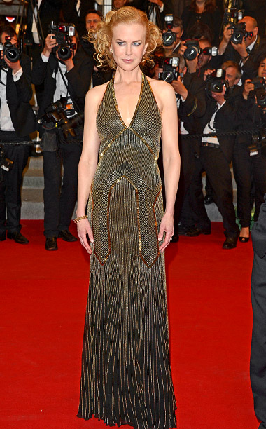 Style, Style: Red Carpet, ... | Nicole Kidman slipped into a 1930s-inspired evening dress from Ralph Lauren Collection for the premiere of her 2012 film Hemingway and Gellhorn .
