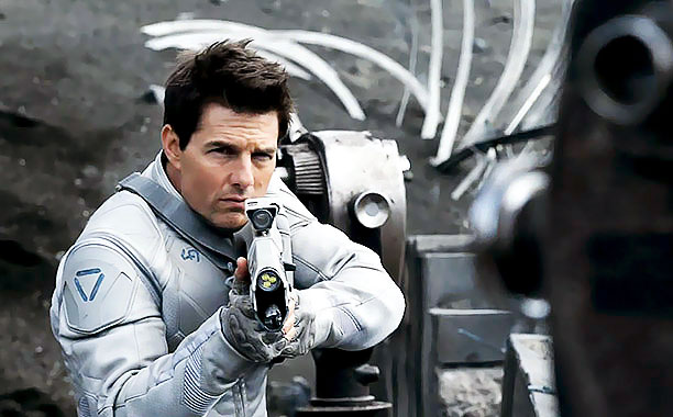 Tom Cruise plays Jack Harper, a drone repairman working on Earth 60 years after the planet was devastated by an alien attack; half of the…