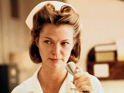 One Flew Over the Cuckoo's Nest, Louise Fletcher | Louise Fletcher One Flew Over the Cuckoo's Nest (1975) Fletcher was sixth in line to play Nurse Ratched in Milos Forman's masterpiece — Anne Bancroft…