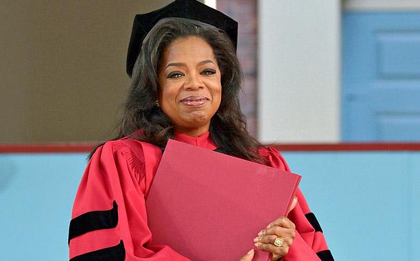 Oprah Speaks At Harvard