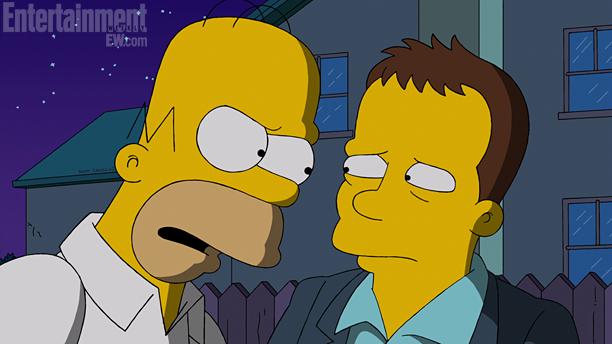 Simpsons Homer And Ben