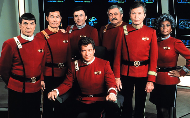 Star Trek V: The Final Frontier | From 1979-91, Captain Kirk and the original Enterprise crew headlined six films, which ran the gamut from weird ( The Motion Picture ) to good…