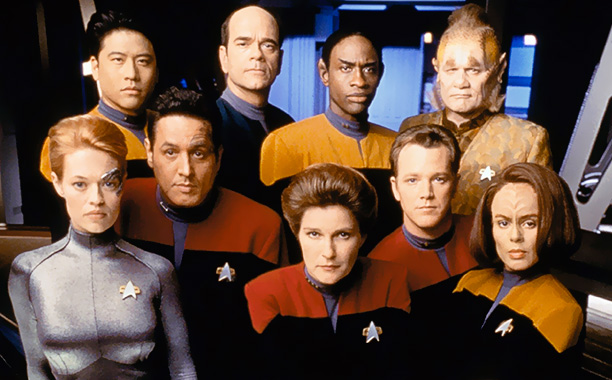 Star Trek: Voyager | The fourth Trek series launched UPN and featured the franchise's first-ever lead female captain. It also had a high-concept plot — the titular starship gets…