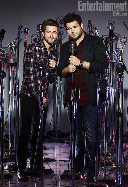 The Voice   Team Blake Country-singing siblings, Colton and Zach, hail from Oklahoma. As kids they grew up with Southern gospel music, which sparked their interest in becoming…