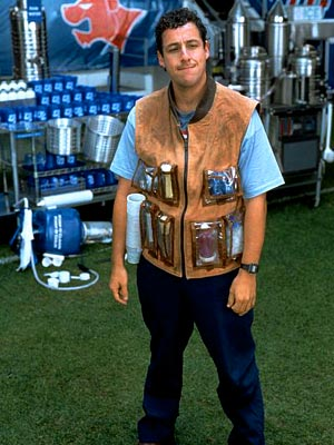 Adam Sandler, The Waterboy | Our mamas told us we shouldn't see this poorly received football comedy. Too bad we didn't listen: We'd rather eat an alligator than watch Adam…