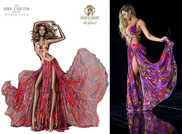Beyonce Roberto Cavalli