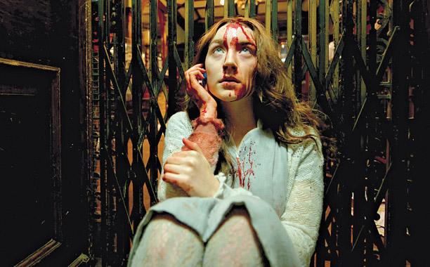 ANTI-FREEZE Saoirse Ronan co-stars with Gemma Arterton in the aimless Byzantium