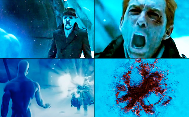 Jackie Earle Haley, Watchmen | When revealing his plan to destroy major cities in order to unite the world in peace, Ozymandias declares, ''Humanity's savage nature will inevitably lead to…