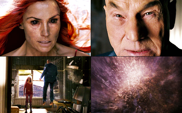 Famke Janssen, Patrick Stewart, ... | Professor X (Patrick Stewart) was the father figure, he was the undisputed leader, both literally and emotionally for every ''good'' character in all three films.…