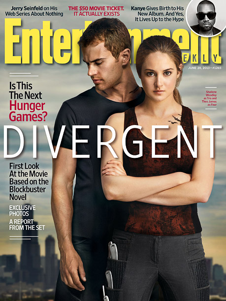For more from Sara Vilkomerson's exclusive Divergent set visit, pick up EW on newsstands or buy here .