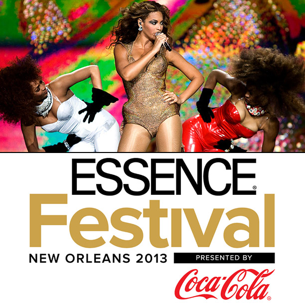 EW's Must List   Pilgrimage to New Orleans without leaving your house! Catch Beyoncé, Emeli Sandé, and moré via live stream (select performances) from the 2013 Essence Festival on…