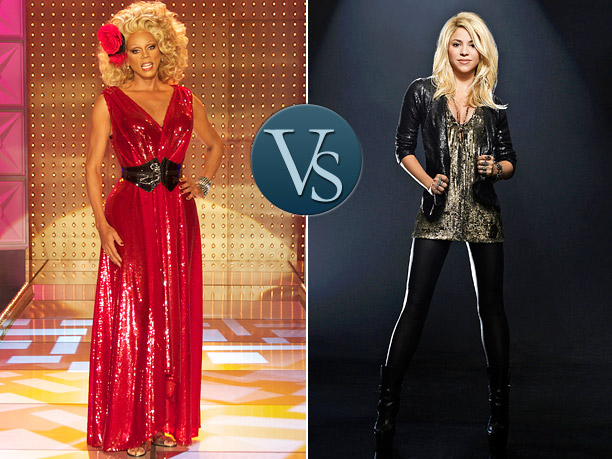 Face Off RuPaul Shakira