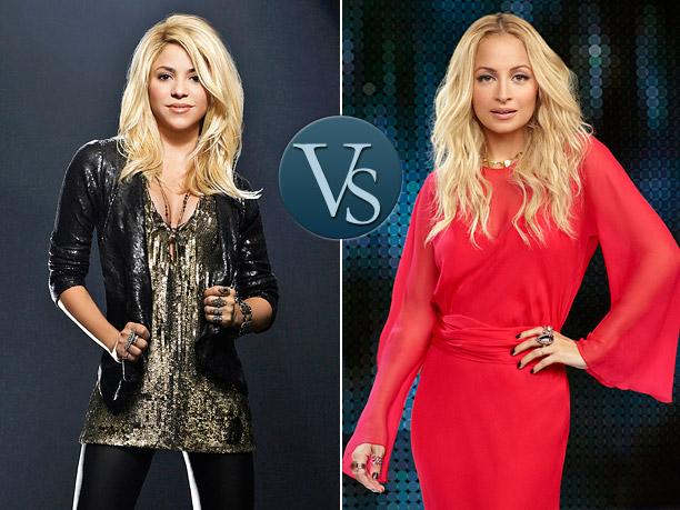 Face Off Shakira Nicole Richie