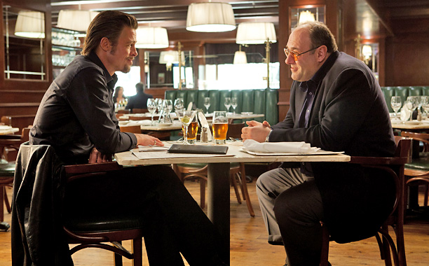 James Gandolfini   Another mob hit man? Yes, but different. Gandolfini played a veteran button man who loves drinking and prostitutes more than his profession and has to…