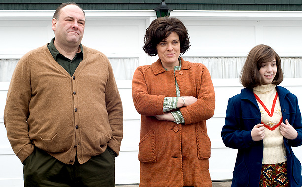 James Gandolfini   In this nostalgic look back at the 1960s, Gandolfini played the no-nonsense blue-collar father of a young New Jersey guy (John Magaro) who longs to…