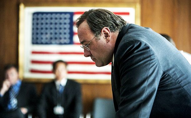 James Gandolfini   Gandolfini as CIA director Leon Panetta? While the two may not have much of a physical resemblance, the actor was convincing as a Beltway insider…