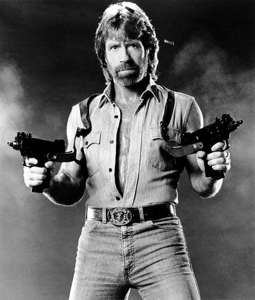 Guns don't kill people. Chuck Norris kills people.