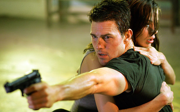 Tom Cruise, Michelle Monaghan, ... | Your mission, should you choose to accept it, is to figure out how Cruise gets his black tees to fit just so.