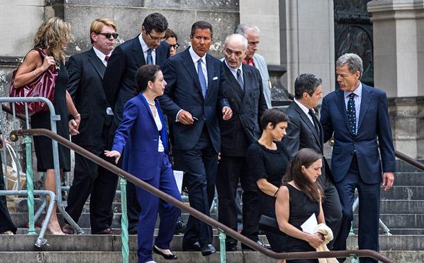 James Gandolfini Funeral Guest
