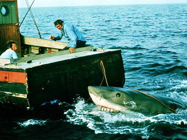 Robert Shaw, Jaws, ... | Hollywood's first true blockbuster was also a prime example of making the best out of a bad situation. With a mechanical shark that refused to…