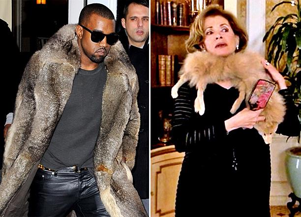 Kanye West Lucille Bluth