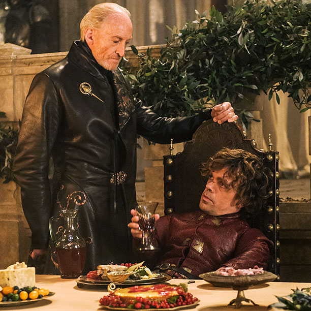 YOU CAN'T CHOOSE YOUR FAMILY Family was at the forefront this season, and Charles Dance and Peter Dinklage were exceptional as Tywin and Tyrion Lannister