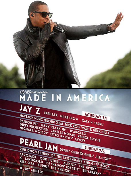 EW's Must List | Jay-Z organized the lineup for the two-day Budweiser Made in America Festival in Philadelphia, featuring Kendrick Lamar, Phoenix, and, yes, Mrs. Carter. ( Aug. 31-Sept.…