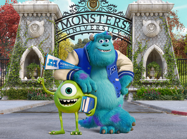 Claim to Fame: Monsters University Major Perks: Top-notch Scaring Studies program; progressive sustainable energy policy; thriving Greek life; incredibly diverse student body; home to lasting…