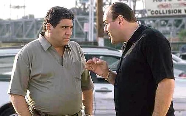 Pastore And Gandolfini Sopranos
