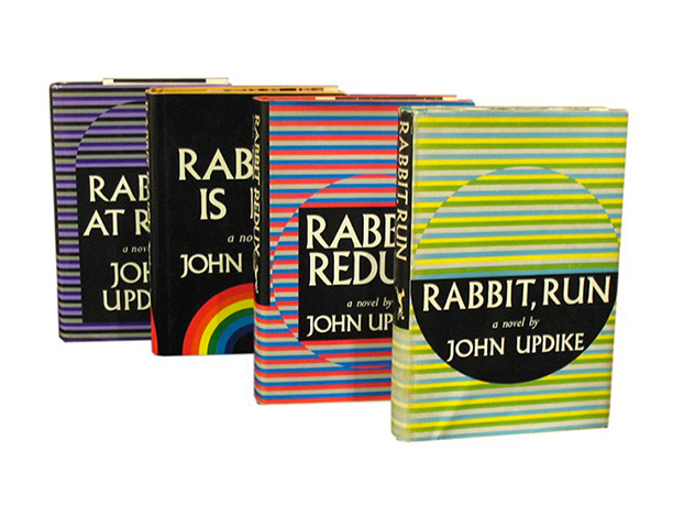''Rabbit'' Angstrom runs from marriage and responsibility and runs smack into them again in Updike's masterful chronicle of a man's four-decade race against the American…