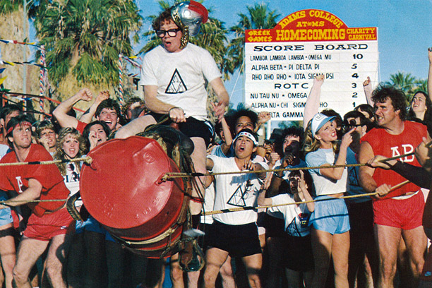 Claim to Fame: Revenge of the Nerds Major Perks: Panhellenic Games include beer-soaked Big Wheel races, foster scientific innovation and features spectacular talent shows ;…