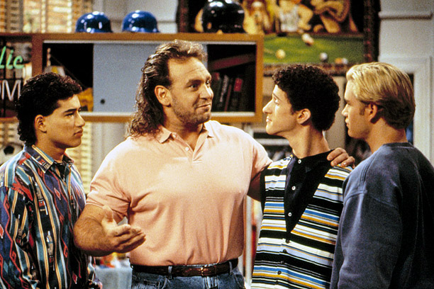Claim to Fame: Saved by the Bell: The College Years Major Perks: An ex-NFL player as your RA; A.C. Slater as your busboy at the…