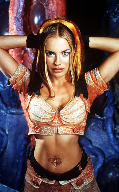 Played by: Xenia Seeberg Show: Lexx (1997) Bred to be a perfect wife, Xev was portrayed by multiple actresses during Lexx 's four seasons, but…