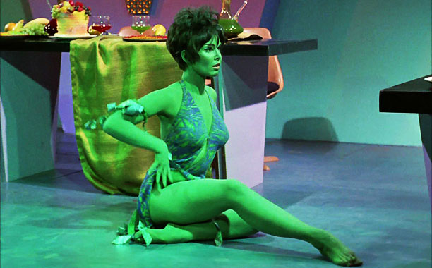 Yvonne Craig, Star Trek (TV Show - 1966) | Played by: Yvonne Craig Show: Star Trek original series (1969) Slave Leia gets all the cosplay love, but she was hardly the first kept woman…