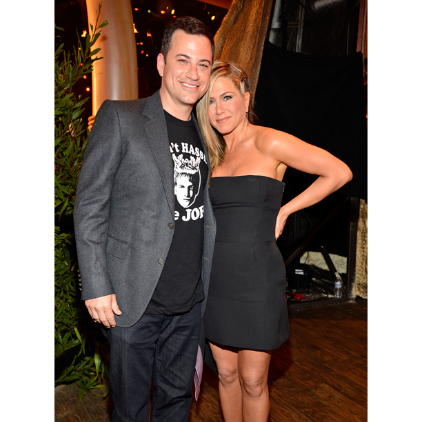Spike Awards Jimmy Kimmel Jennifer Aniston