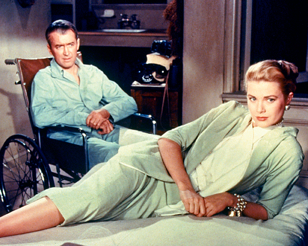 Grace Kelly, Jimmy Stewart, ... | Another Edith Head masterpiece. Alfred Hitchcock's thriller brought the drama both in story and in aesthetic. Grace Kelly's elegant 1950s wardrobe has proven timeless —…