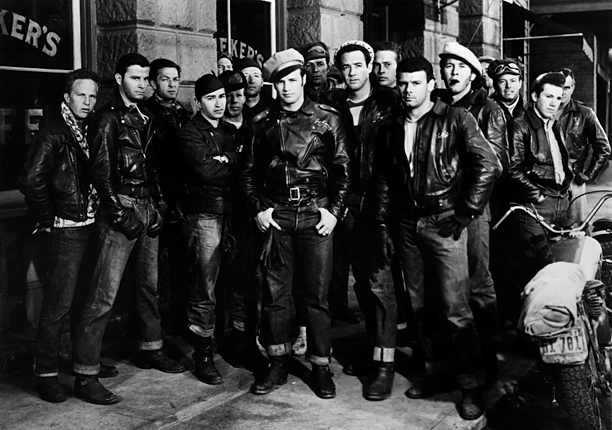 Marlon Brando, The Wild One | Marlon Brando made many a classic film, but the bad boy biker drama was doubtless his most stylish. Though his character Johnny Strabler wore a…