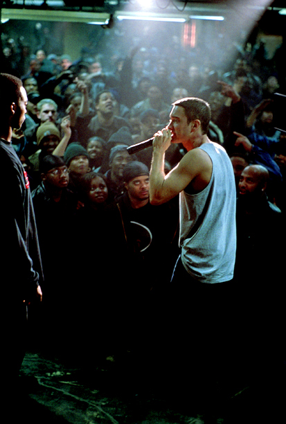 Eminem, 8 Mile | not missing your chance to blow (this opportunity comes once in a lifetime, yo). From: 8 Mile