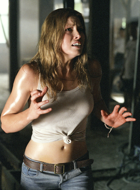 Jessica Biel, The Texas Chainsaw Massacre (Movie - 2003) | dreaming of a day when you can doodle ''Mrs. Justin Timberlake''...''Mrs. Jessica Timberlake''...''Mrs. Jessica Biel-Timberlake''...''Mrs. Jessica Timberbiel'' over and over again in your Bonnie Frank…