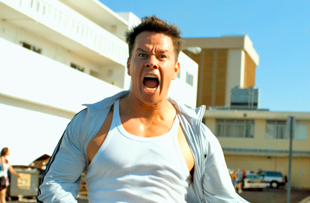 Mark Wahlberg | trying to make it to the bathroom before you have an accident. From: Pain & Gain